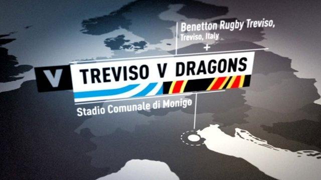 Treviso v Dragons