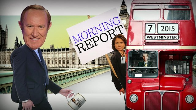 Andrew Neil's Morning Report graphic