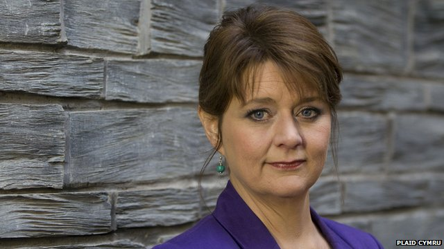 Plaid Cymru leader, Leanne Wood