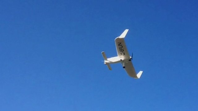 Ego, an ultra light aircraft meant for fun flying
