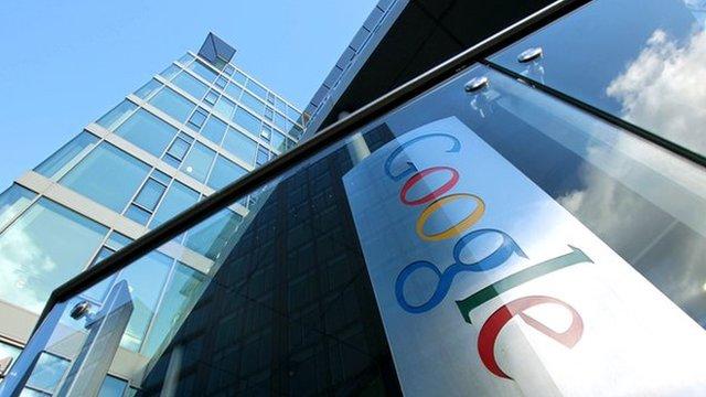 Google HQ in Europe