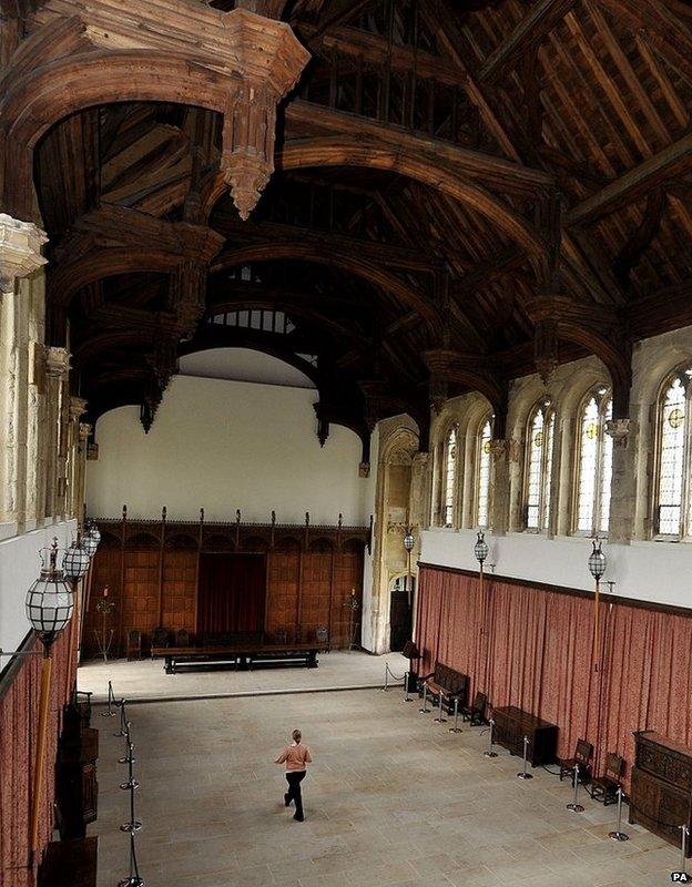 Eltham Palace Medieval hall