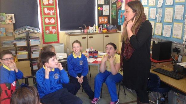 Sorcha Turnbull teaching