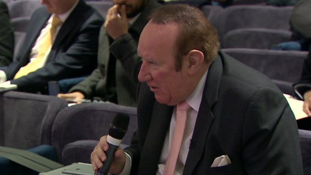 Andrew Neil at UKIP press conference