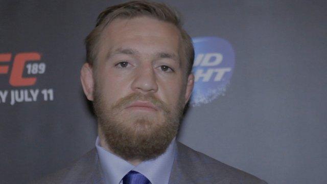 UFC world title challenger Conor McGregor