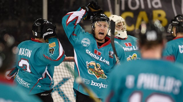 Belfast Giants play Coventry Blaze in the Play-off semi-finals