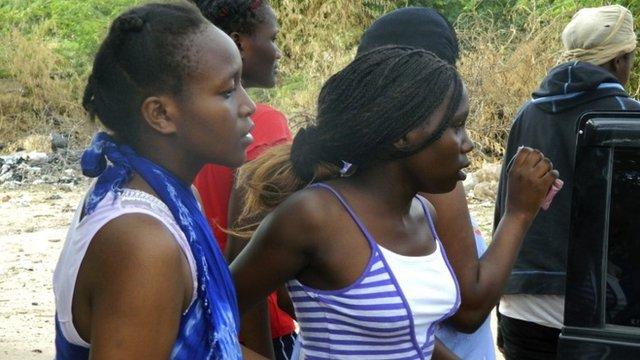 Students of the Garissa University College