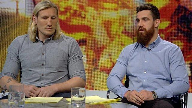 Eorl Crabtree and Tyrone McCarthy