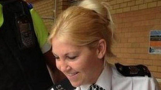 Sgt Louise Lucas