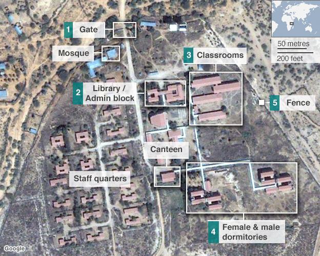 map of Garissa university