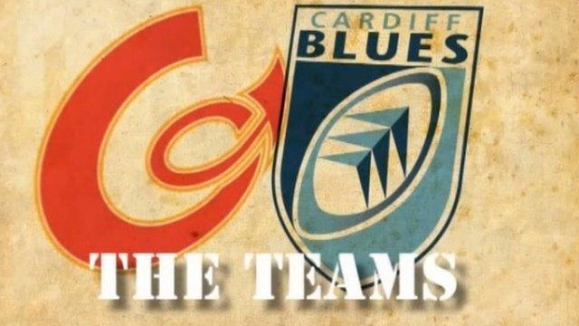 Newport Gwent Dragons v Cardiff Blues