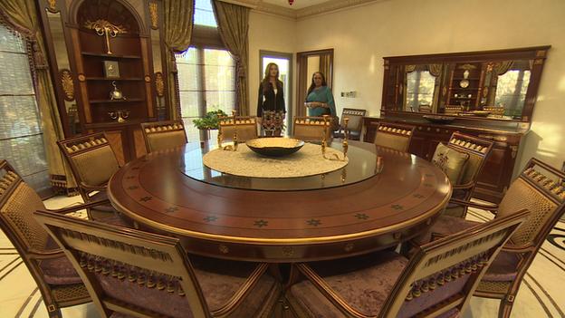 Dubai apartment interior