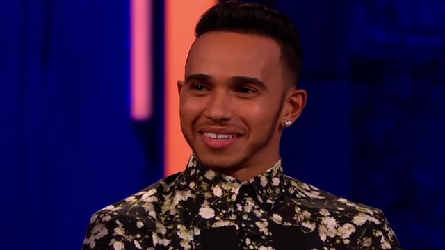 Lewis Hamilton on The Clare Balding Show