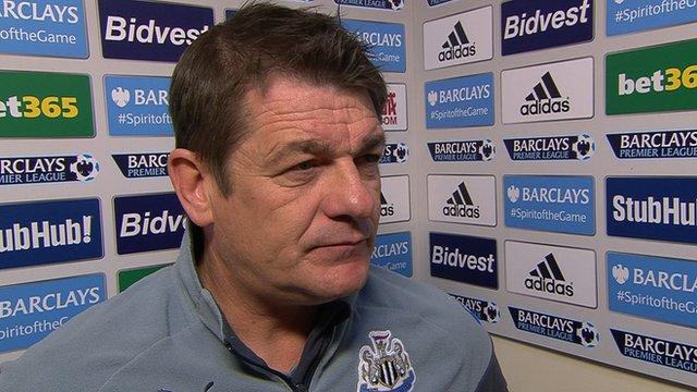 Sunderland 1-0 Newcastle: John Carver says loss hurts job bid