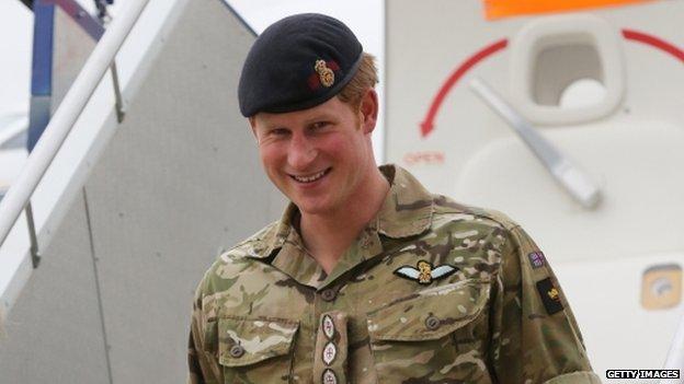 Prince Harry in Australia