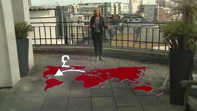 Steph McGovern and a map