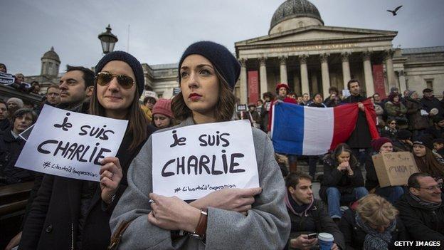 Je Suis Charlie in London