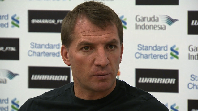 Brendan Rodgers denies Liverpool team rift
