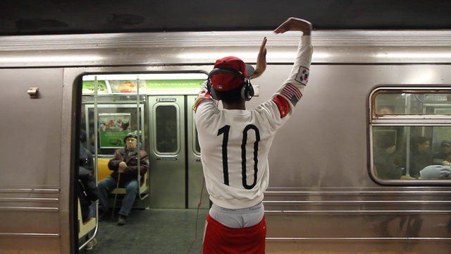 Subway dancer