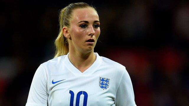 England forward Toni Duggan