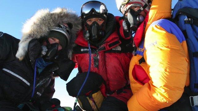 Bonita Norris on Mount Everest