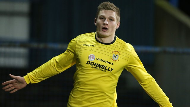 Andrew Mitchell of Dungannon Swifts