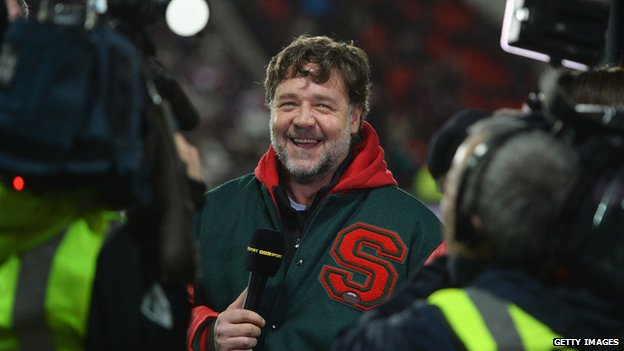 Can Russell Crowe Take Rugby League To Las Vegas Bbc News