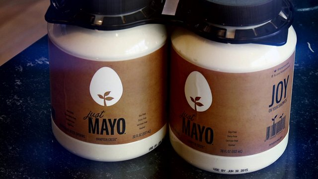 Eggless mayonnaise made from a plant protein