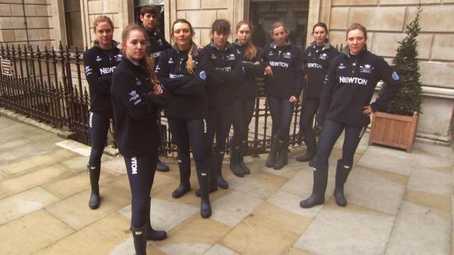 The Cambridge Women's Boat Race Team