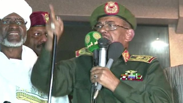 Sudan's President Omar al-Bashir is standing for re-election, despite previous claims that he would quit after 25 years in power