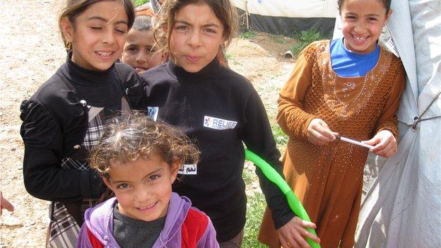 Refugee children in Iraqi Kurdistan