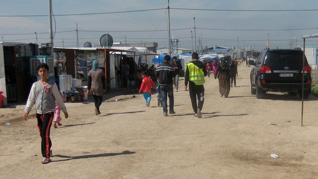 Refugee camp in Iraqi Kurdistan