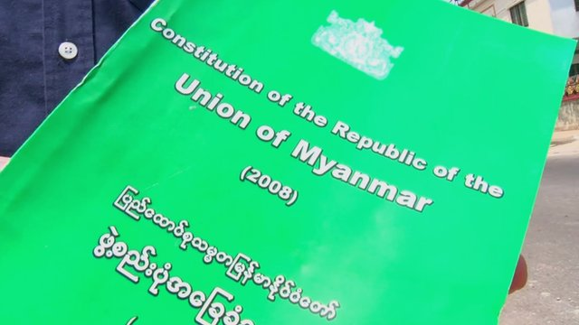 Myanmar constitution