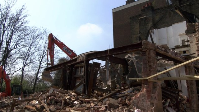 Pub in Maida Vale demolished 'without permission'