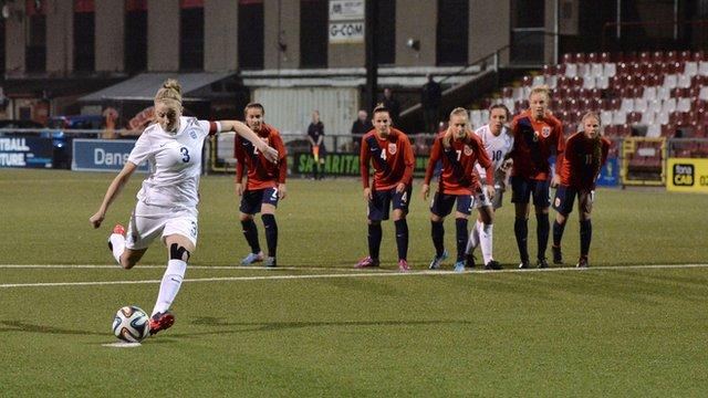 England women: Leah Williamson scores after five-day wait