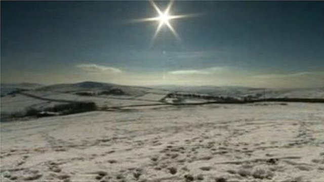 Pennine Way in the snow