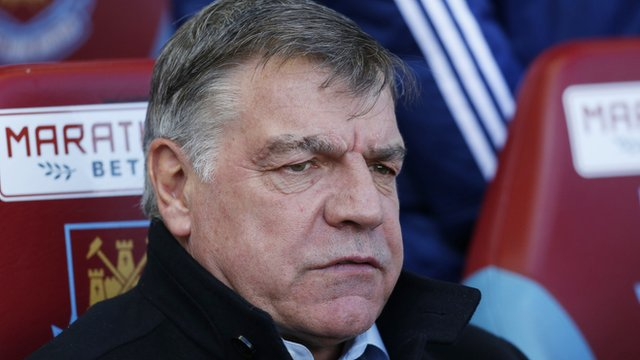 Premier League: West Ham 1-1 Stoke - Allardyce questions 'mental strength'