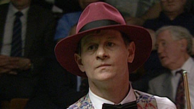 Alex Higgins in 1994