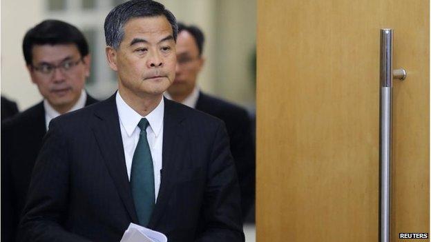 Hong Kong Chief Executive CY Leung (March 2015)