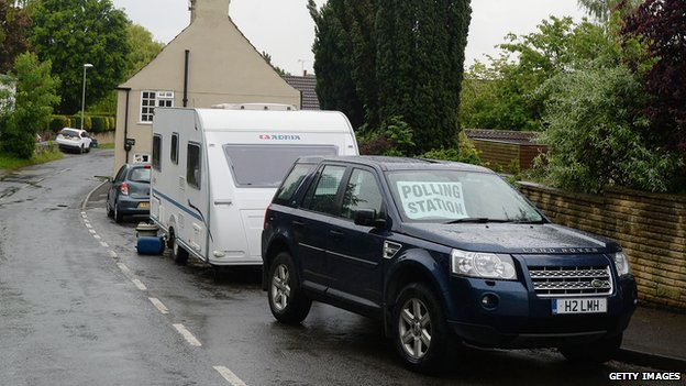 caravan in Little Smeaton, Selby