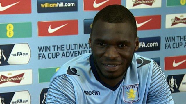 In-form Aston Villa striker Christian Benteke