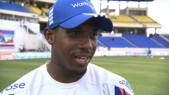 West Indies v England: Chris Jordan preaches patience