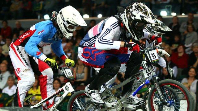 BMX rider Liam Phillips
