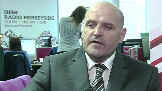 Liberal Party leader Steve Radford