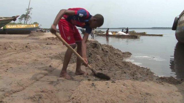 child in Sierra Leone