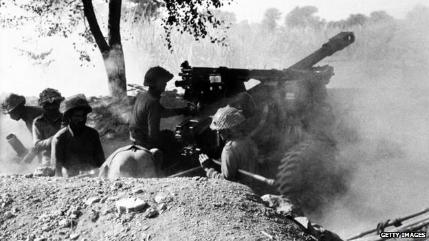 Soldiers in 1971 war