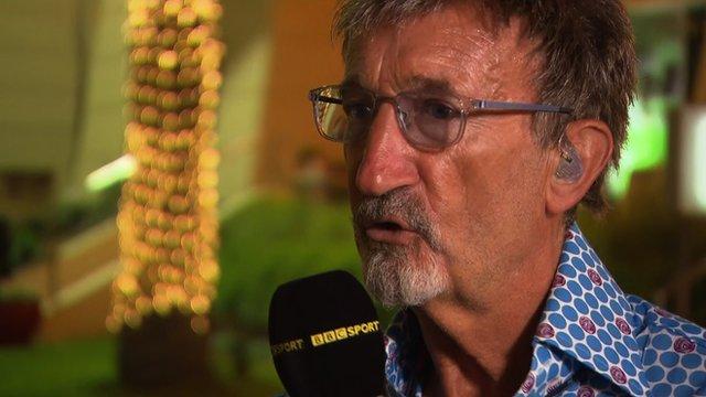 BBC F1 chief analyst Eddie Jordan