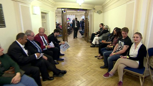 Behind the scenes at BBC election debate
