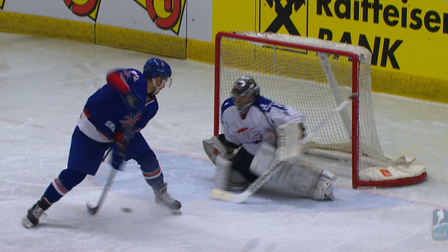 Ben O'Connor scores an amazing penalty goal for Great Britain in their 3-2 victory over South Korea at the third-tier World Ice Hockey Championships
