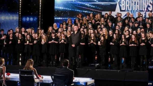 Glanaethwy ar 'Britain's Got Talent'